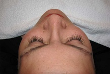 Eyelash Extensions / If you would like thicker, fuller, darker, or longer looking eyelashes then eyelash extensions may be just what you're looking for.  Individual synthetic lashes are adhered, one by one, to your natural lashes so it looks like you were born with them!