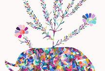 Ideas for kids art / by Amelia Loneragan