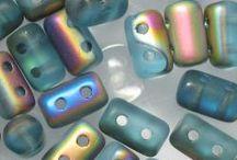 Korálky - Rulla Beads - 3 x 5 mm