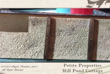 1:48 Scale Petite Properties Mill Pond Cottage / Designing and construction of the 1:48 Scale Petite Properties Mill Pond Cottage