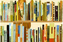 Illustrations - Books & Reading