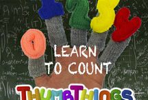 Learn 2 Count Finger Puppets / http://www.fingerpuppetsinc.com/collections/learn-to-count-finger-puppets