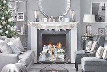 Silver living rooms