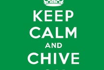 #KCCO / Keep Calm & Chive On
