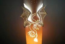lampy PVC