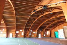 Centro polivalente a Parre (BG) / centro sportivo-ricreativo in legno https://www.marlegno.it