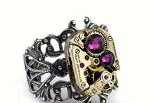 Steampunk Rings / Handmade Steampunk Rings crafted by London Particulars