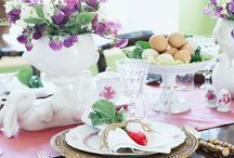 Centerpieces/Place settings / by Emily Moore
