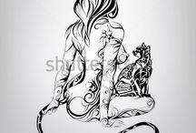tattoos / Ciekawe tatuaże/Interesting tattoos