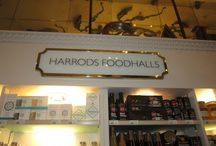 Harrods Food Halls / The Food Halls at Harrods offer a veritable cornucopia of elegant dining choices - with delectable foods from all over the globe.
