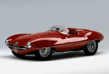 """Alfa Romeo 1900 C52 Disco Volante / Prototypes for coupés and roadsters with ogival cross section bodies built on special tube type frames 