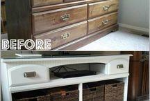 Oude meubels opknappen