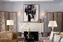 Glamourous luxe / Add glamour to your room with sumptuous fabrics, rich textures, glitzy accessories and dramatic lighting