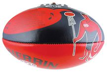 Sherrin AFL Team Song Ball / Learn your club song, as you hone your kicking skills!    Padded PVC ball featuring the words of your favourite club song and the team mascot.