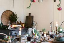 Ideen für eine weihnachtliche Tischdeko