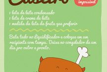 Amo Sorvete! / Sozinho ou acompanhado ! sobremesas e delicias com ele!   #Sorvete