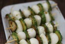 Antipasti, finger food