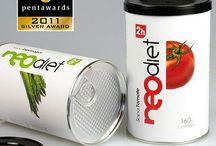 Packaging alimentario / Diseños de envases con finalidad alimentaria