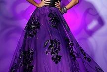 Purple Lady Fashion
