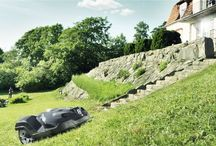 Robot Lawn Mowers / Husqvarna has been making robotic lawn mowers for over 20 years! Learn more about how to achieve a great looking lawn effortlessly. http://www.husqvarna.com/us/products/robotic-lawn-mowers/ / by Husqvarna USA