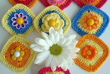Crochet - Squares / by Rose Oliveira