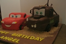 Birthday Cakes / These are some birthday cakes I have made!  Birthdays are the perfect time for a celebration!
