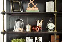 Bookcase arrangements