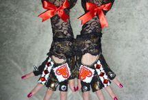 Vintage Burlesque Lace