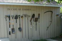 Cabanes et abris de jardin, serres et outils de rêve / De quoi faire rêver les jardiniers !