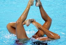 synchronized swimming / by Patti Goldenson