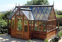domček záhradný, skleník, zimná záhrada