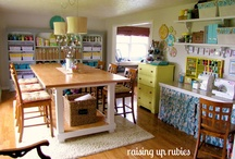 Craft rooms / by Andrea Gentry