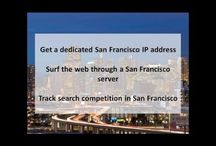 San Francisco CA Private Proxies / San Francisco, in northern California, is a city on the tip of a peninsula surrounded by the Pacific Ocean and San Francisco Bay.