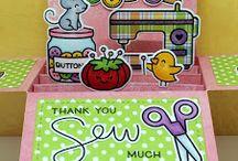 Lawn Fawn Box Card