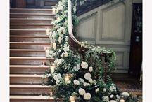 Wedding decor stairs