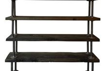 Reclaimed Furniture / Reclaimed Furniture Made out reclaimed wood and iron pipes.