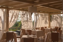 Panoramic terrace / On our terrace you can enjoy an unbeatable view. In summer you can dine outside in the romantic wooden gazebo.