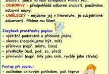 český jazyk sloh