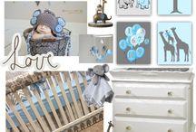 Elephant Nursery, Giraffe, Animals, Nursery Decor