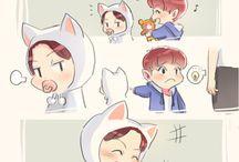 EXO comics