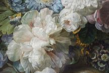 Flowers in Paintings / Florals and Flower Arrangements in Art History