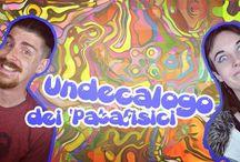 Instagram Alle 18.30 regnerà la confusione! Arriva il temuto #Undecalogo de #ipatafisici!  Ovviamente, sul canale #youtube!