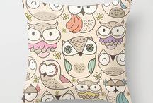❥  owls: accessories, fashion & art