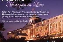 Pin to Win: Michigan in Love / by Mandee Moose