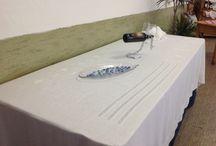 Mostra Incontri del Ricamo Aldeno 2013 / Lavori realizzati dalle allieve del corso incontri del ricamo Aldeno 2013