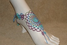 Barefoot sandals / Crochet barefoot sandals ideas and inspiration