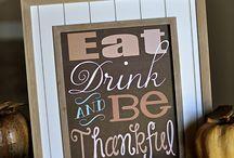 Fall/Thanksgiving / by Wendy Sansone