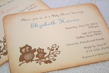 Owl baby shower / by Desiree Russo Wedding Planner