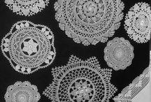 Doilies , crochet