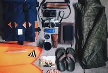 Travel Packing in Style / A board showing my favourite images of travel packing for those global adventures!